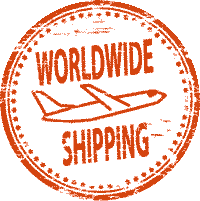 worldwide shipping stamp en