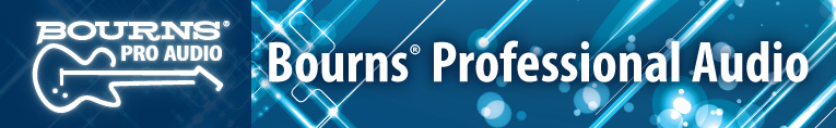 bourns pro audio banner