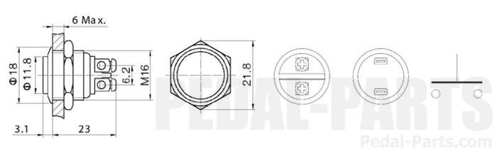 e-cigarette button schematic