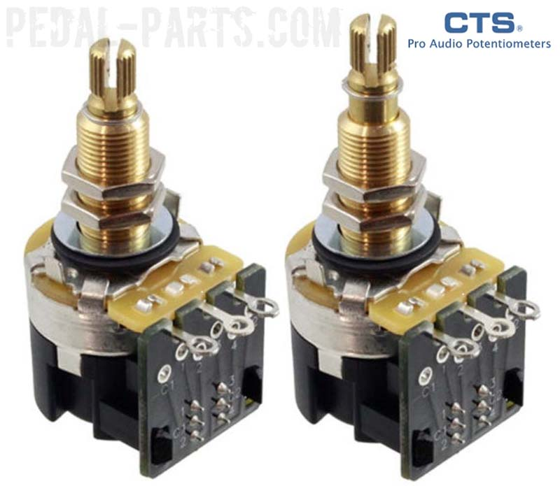 Cts A500k Push  Pull Long Shaft Potentiometer