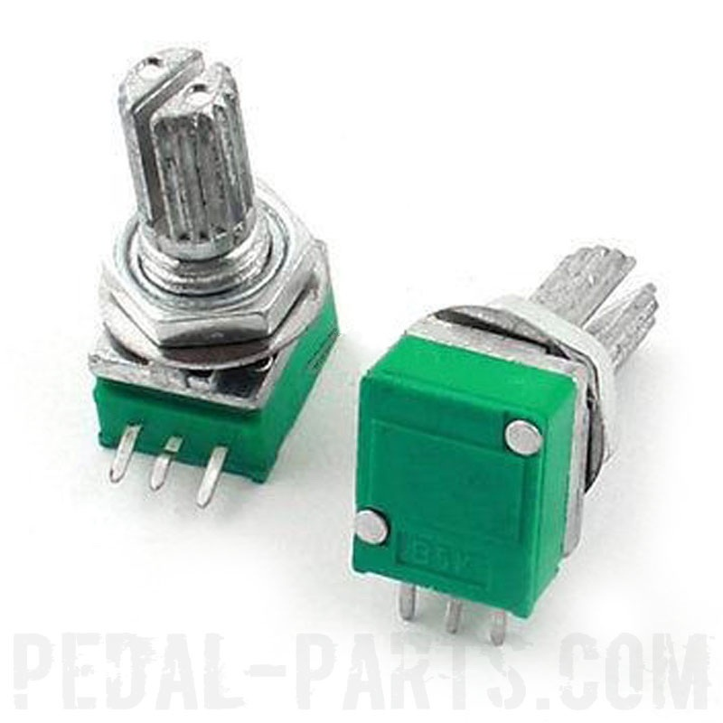 B10K линейный мини потенциометр | Pedal-Parts.com